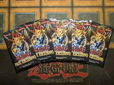 5x Exclusive Pack Sealed Booster Packs Spanish YuGiOh