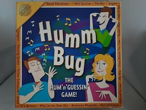 Humm Bug The Hum 'n' Guessin Board Game By Cheatwell Games