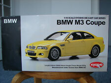 parts from KYOSHO 1/18 BMW M3 E46 Coupe BOX