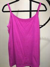 Faded Glory Plum Purple Cami Top Women's 3X 22W-24W