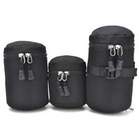 Thick Protective Waterproof Pouch Bag Travel Case Covers For DSLR Camera Lens FO