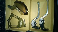 2010 BMW S1000RR Brake & Clutch levers, engine case protectors