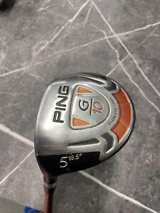 PING G10 5 Wood Regular LEFT HAND PGA Seller