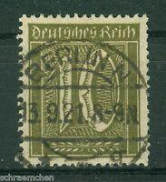 Deutsches Reich 159a , o , Infla geprüft