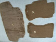 1990-99 300ZX Floor Mats and Trunk Carpet Set Tan with Z Logo For 2+0