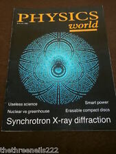 PHYSICS WORLD - SYNCHROTRON X-RAY DIFFRACTION - JAN 1989 VOL 2 # 1