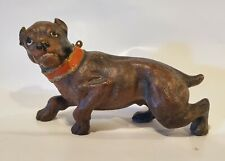 Vienna Bronze Bull and Terrier Staffordshire Bull Terrier Dog Figurine