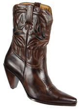 Charlie 1 Horse by Lucchese Womens Western Cowboy Boots Size 10B Brown Leather