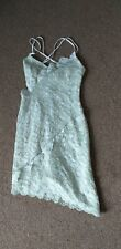 Topshop Strappy Lace Dress Size 6