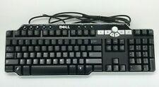 Dell Sk-8135 Enhanced Multimedia 104-Key Keyboard w/ Knob & Usb Hub Tested Works