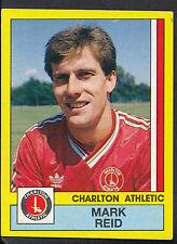 Panini Football 1987 Sticker - No 42 - Charlton Athletic - Mark Reid