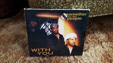 Somethin For The People : With You CD Single Soul R&B Neo Soul 3 Trks