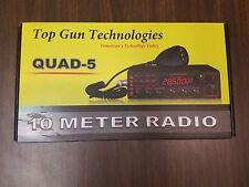 Top Gun QUAD-5 10 Meter Amateur Radio All Mode PA, CW/AM/FM/SSB