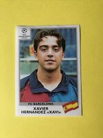 Panini Xavier Hernandez XAVI Champions League 1999/2000 Sticker Rookie #45
