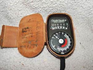 Weston Master II Universal Exposure Meter model 735 in case