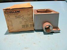 New Killark Swb 1 1 Gang Device Box Dead End Type