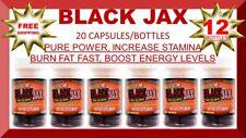 STACKER 2 BLACK JAX ENERGY PILLS (12 X 20CT) BOTTLES 240 PILLS