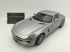 Minichamps 1:18 MERCEDES-BENZ SLS AMG 2010 LIMITED TO 1,008 PIECES VERY RARE!