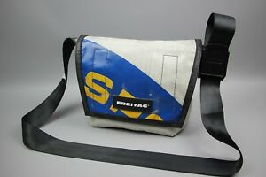 FREITAG F11 LASSIE Gray/Blue/Yellow Cycling/Casual CLASSIC MESSENGER Bag Size S