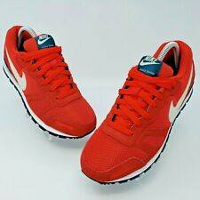 Nike Air Waffle Trainer Red Running Shoes Sneakers Size US 7.5 429628-602