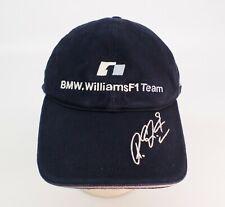 BMW Williams F1 Team Hat Cap Reuters #5 Adjustable Blue