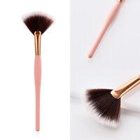 Fan Shape Makeup Brush Blending Highlighter Contour Face Powder Brush Cosmetic