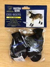 Guardian Gear Dog Boots, XXX-Small, Black/Blue