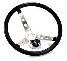 Mustang Steering Wheel Grant Black Foam 1965 66 67 68 69 70 71 72 73