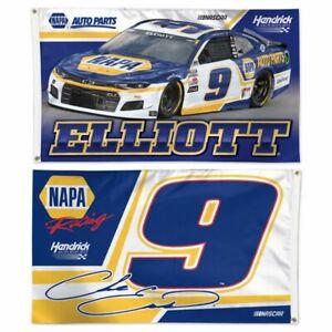 Chase Elliott #9 NAPA 2021 3' x 5' 2-sided Flag Free Ship Instock
