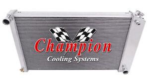 "3 Row BC Radiator 26"" Core for 1978 - 1987 Chevrolet El Camino (Manual Trans)"
