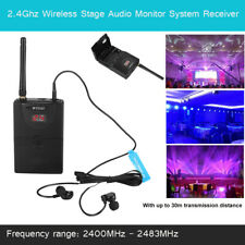 Wireless Monitor Audio System Receiver In Ear On Stage Professional 2.4GHz WMS02