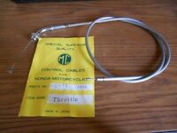 NOS MC Brand Honda Grey Throttle Cable CA72 CA77 17910-262-000