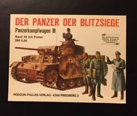 Waffen Arsenal Band 49 der Panzer der Blitzsiege Panzerkampfwagen 3 mit Poster