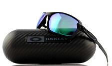 $600 New Authentic OAKLEY CARBON SHIFT Black Jade Iridium Sunglasses OO 9302-07