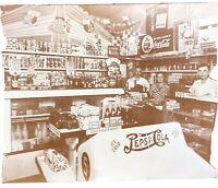 Photo Print - 11 x 14 - Vintage Coca-Cola Store Shop Displays - Pepsi Cola