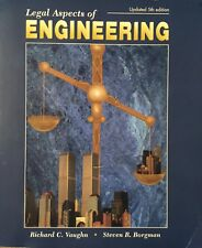 Legal Aspects of Engineering, Updated 5th Edition, Vaughn-Borgman