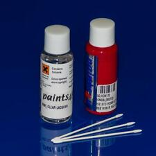 FIAT 30ml Car Touchup Paint Repair Kit PASSEDENA RED 111A