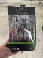 "Star Wars Black Series Deluxe BOBA FETT 6"" Figure Return Of The Jedi IN STOCK!"