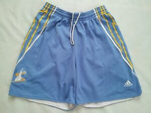 VINTAGE RARE ADIDAS CLIMALITE WNBA CHICAGO SKY PRO CUT GAME SHORTS IN SIZE L