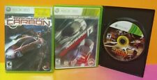 Need For Speed Hot Pursuit, Carbon, + Run  - Microsoft XBOX 360 Games Lot Tested