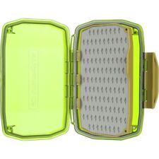 Umpqua HD Medium Premium Water Resistant Fly Box Olive See-Through Heavy Duty