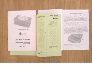 """+ Laubsägevorlage - """" alte SCHREIBLADE Nr.499"""" - zum selber aussägen u. basteln"""