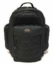 Hsd Diaper Bag Backpack+Changing Pad, Insulated Pockets, Stroller St.