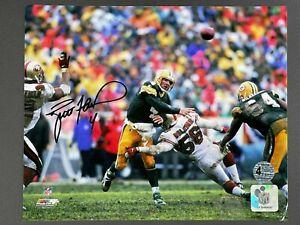 Brett Favre Signed 8x10 Photo Autographed FAVRE Hologram ONLY Packers HOF