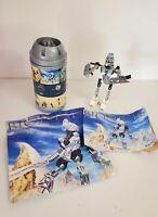 Lego Technics Bionicle TOA Kopaka Set #8536 w/Instructions & Poster Mostly Compl
