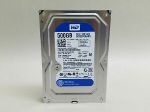Western Digital WD Blue WD5000AAKX 500GB SATA III 3.5 in Desktop Hard Drive