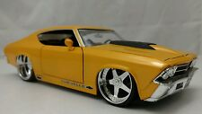 JADA 1/24 BIGTIME MUSCLE 1969 CHEVY CHEVELLE SS *NEW* NO BOX Pro Touring
