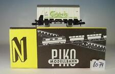 Piko Spur N 1/160 Kühlwagen Carlsberg weiß 2-achsig der DSB OVP #8074