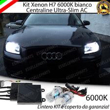 KIT XENON XENO H7 AC 6000K CANBUS AUDI A3 8P 8PA + PORTALAMPADE NO AVARIA LUCI