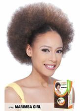 Model Model Glance Synthetic Drawstring Ponytail Afro Style Hair - Marimba Girl